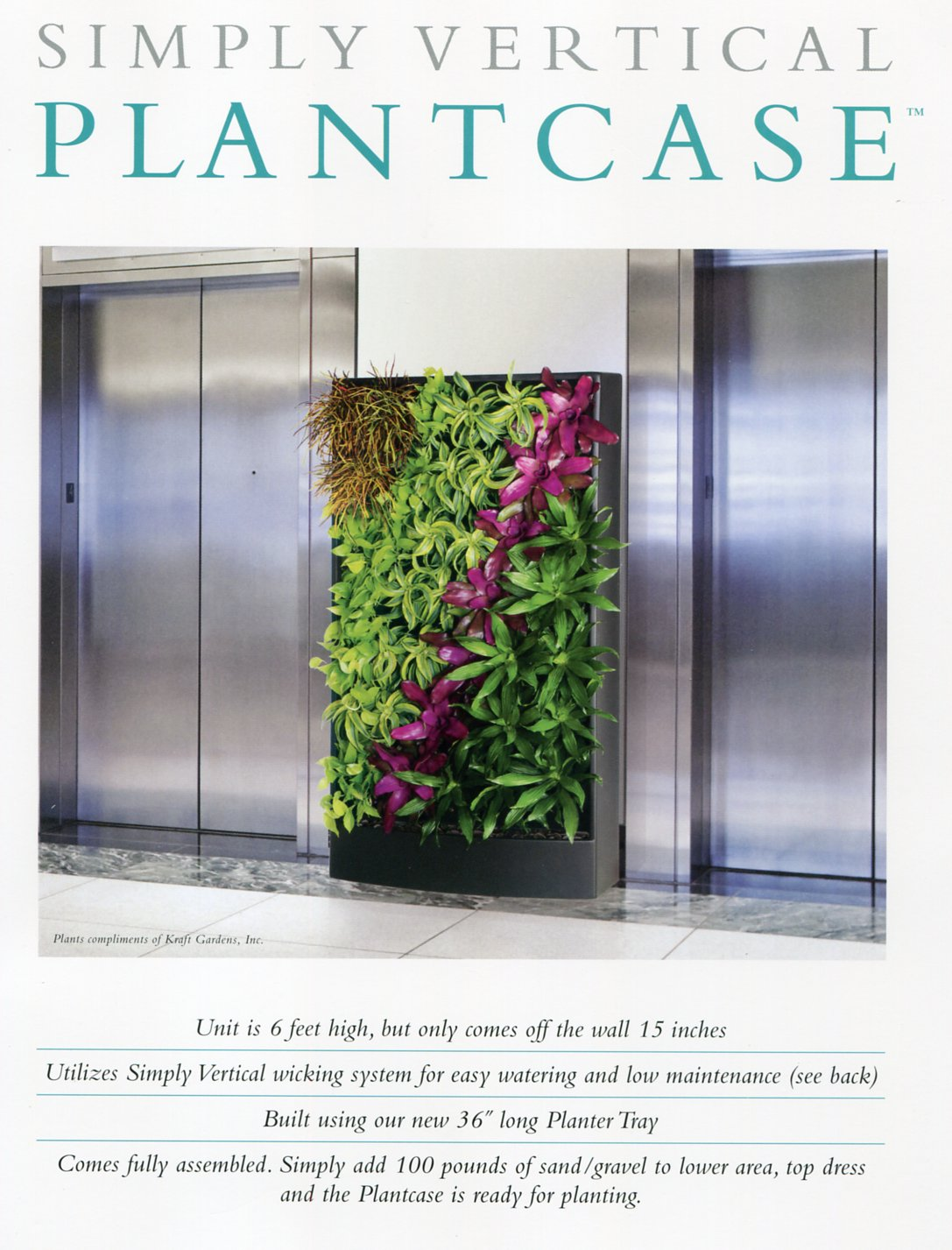 Living Walls - Plantcase